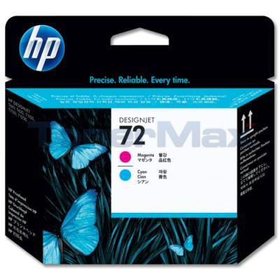 HP NO 72 PRINTHEAD MAGENTA/CYAN